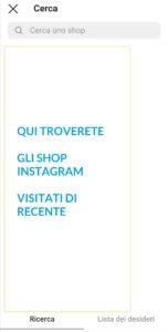 Guide Instagram - prodotti