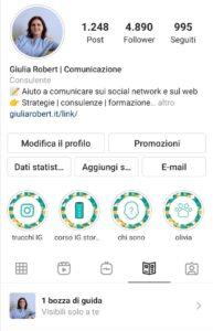 Guide Instagram - bozza